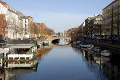 CHRISTIANSHAVN CANAL Stock Photos
