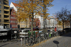 CHRISTIANSHAVN CANAL Royalty Free Stock Photography
