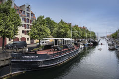 Christianshavn and Canals Royalty Free Stock Photography