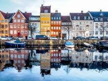 Christianshavn Denemarken Stock Fotografie