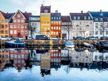 Christianshavn Denmark Stock Photography