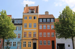 Christianshavn kanal Royaltyfria Foton