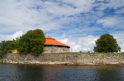 Christiansholm Fortress Royalty Free Stock Photos