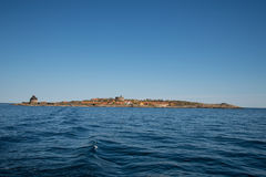 Christianso. Is a group of small islands not far from Bornholm, Danmark. There are only 100 inhabitants. There are not many tourists. The islands are placed on Royalty Free Stock Image