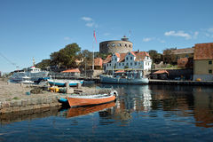 Christianso harbour Royalty Free Stock Photography