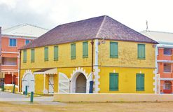 Christiansted usvi scale  house Royalty Free Stock Photography