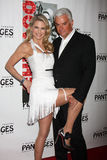 Christie Brinkley, John O'Hurley arrives at the Opening Night of the Play  Stock Photography
