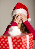 Christimas suprise Royalty Free Stock Photos