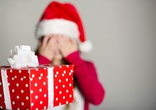 Christimas suprise Royalty Free Stock Photo