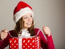 Christimas suprise Royalty Free Stock Image
