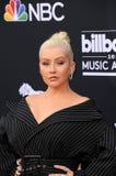 Christina Aguilera fotografia de stock