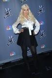 Christina Aguilera Fotos de Stock Royalty Free