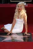 Christina Aguilera Photo stock