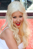Christina Aguilera Zdjęcie Royalty Free