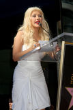 Christina Aguilera Obrazy Stock