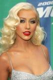 Christina Aguilera Imagem de Stock