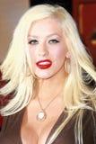 Christina Aguilera Royaltyfria Foton