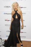 Christina Aguilera, Clive Davis stockfotografie