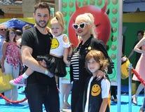 Christina Aguilera Rutler i Matthew Zdjęcie Stock