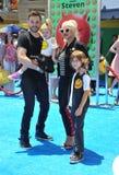 Christina Aguilera Rutler i Matthew Fotografia Royalty Free