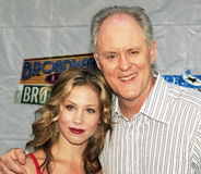 Christina Applegate and John Lithgow Royalty Free Stock Images
