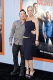Christina Applegate och David Faustino arkivfoton