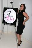 Christina DeRosa an der Villenparty bewirtet durch britische Talk Show Moderator Jacquie Flamme. Privater Wohnsitz, Beverly Hills, stockfotografie