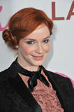 CHRISTINA HENDRICK, Christina Hendricks zdjęcia royalty free