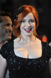 CHRISTINA HENDRICK, Christina Hendricks obraz stock