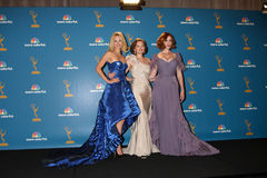 CHRISTINA HENDRICK,January Jones,Christina Hendricks,Elisabeth Moss Stock Photo