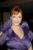 christina hendricks Fotografia Stock