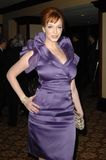 Christina Hendricks royaltyfria bilder