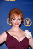 Christina Hendricks Foto de Stock