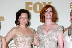 Christina Hendricks, Elisabeth Moss Royalty Free Stock Image