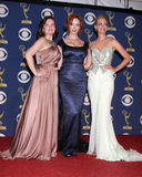 Christina Hendricks,Elisabeth Moss,January Jones,CHRISTINA HENDRICK Stock Photos