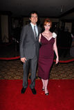 Christina Hendricks,Geoffrey Arend Royalty Free Stock Image