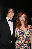 Christina Hendricks,Geoffrey Arend Royalty Free Stock Images