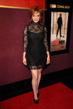 Christina Hendricks noja, CHRISTINA HENDRICK royaltyfri foto
