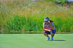 Christina Kim LPGA Safeway Classic Stock Photography