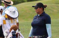 Christina Kim på turneringen 2015 för ANA inspirationgolf royaltyfri fotografi