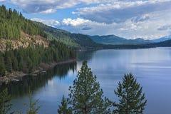 Christina Lake British Columbia Canada royaltyfri bild