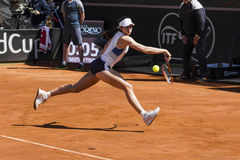 Christina McHale brindisi fed cup 2015 Royalty Free Stock Photos