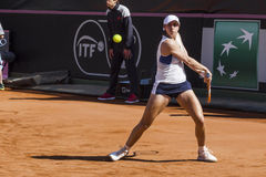 Christina McHale brindisi fed cup 2015 Royalty Free Stock Photography