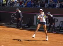 Christina McHale brindisi fed cup 2015 Royalty Free Stock Photo