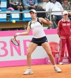 Christina McHale contre Lesia Tsurenko - Fed Cup 2012 images stock