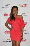 Christina Milian Grand Opening Celebrity VIP Reception of the FIRST SIGNATURE LA FITNESS CLUB Royalty Free Stock Photos