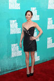 Christina Ricci arriving at the 2012 MTV Movie Awards Royalty Free Stock Image