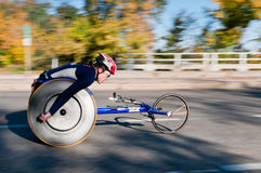 Christina Ripp - Marathon van 2010 de TweelingSteden Stock Afbeelding