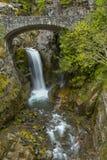 Christine Falls (Mt Rainier NP0 Stock Photography