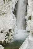Christine Falls in Winter Royalty Free Stock Photography